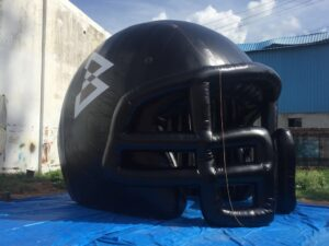 Rugby Helmet  Tunnel